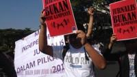 AJI Surabaya Serukan Indepedensi Pers saat Pilkada