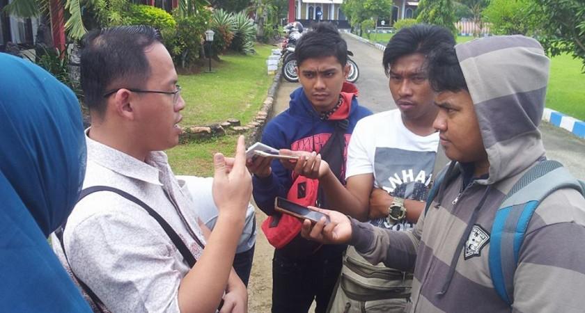 Polres Bangkalan Terapkan UU Pers