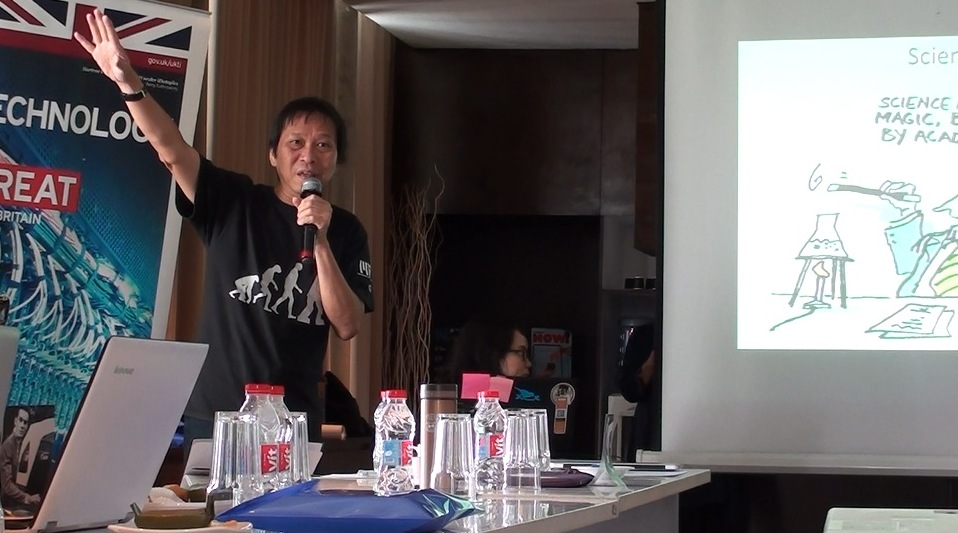 Harry Surjadi, Society of Indonesian Science Journalist. Foto: Prasto Wardoyo