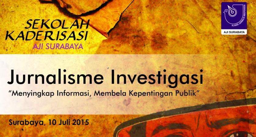 Pelatihan Jurnalisme Investigasi